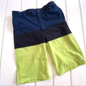Abercrombie & Fitch Swim Trunks Color Block 15/16